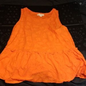 NWOT XL Michael Kors Skirted Tunic Top
